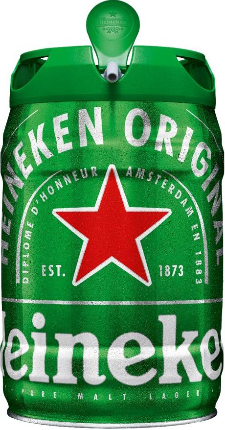Автомат за бира KRUPS VB320E10 + Кег Heineken 5L