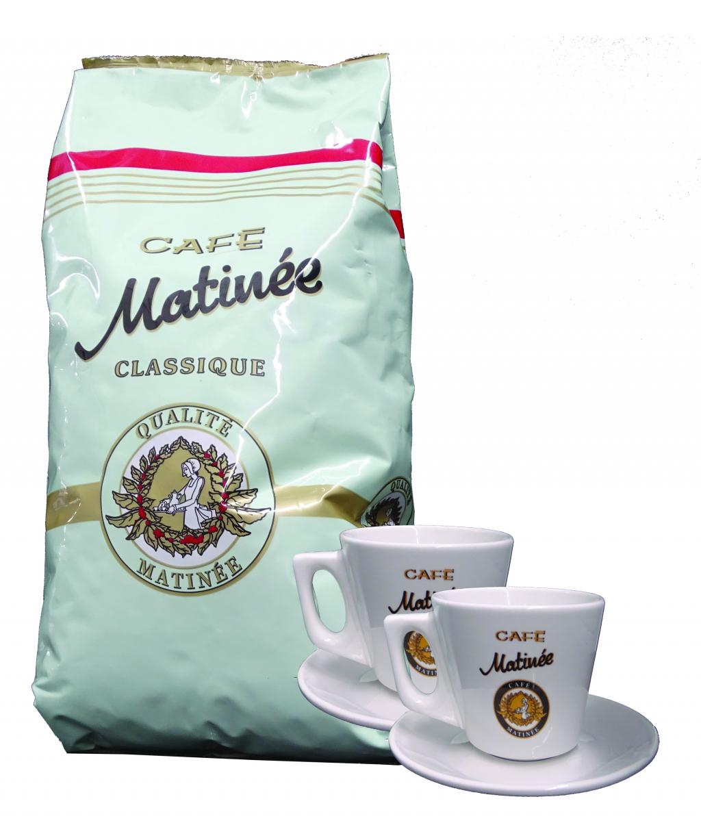 Кафе автомат PHILIPS EP3246/70+ Кафе Matinee 1 кг на зърна + 2 бр чаши