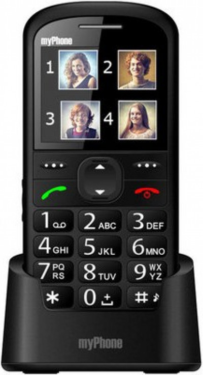 Мобилен телефон myPhone Halo 2 Black