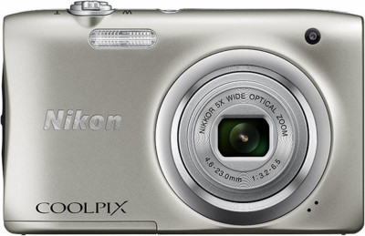 Фотоапарат Nikon A100 Silver+8GB+S-case