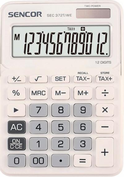 Калкулатор Sencor SEC372T/WE