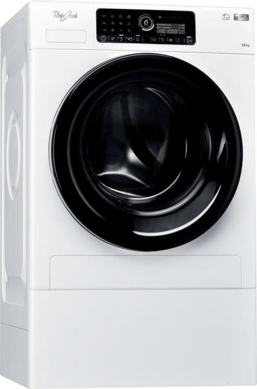 Перална машина Whirlpool FSCR12440+Поставка за пералня WHIRLPOOL PEDESTAL WM OMNIA