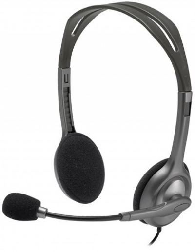 Слушалки Logitech Stereo Headset H111