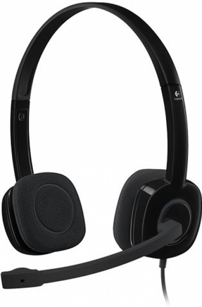 Слушалки Logitech Stereo Headset H151