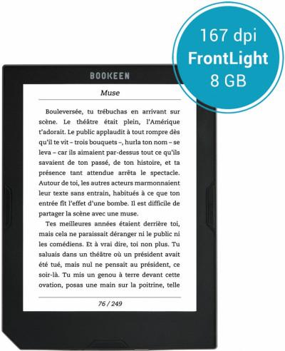 Електронна книга BOOKEEN CYBME1F-BK Cybook Muse Light 6