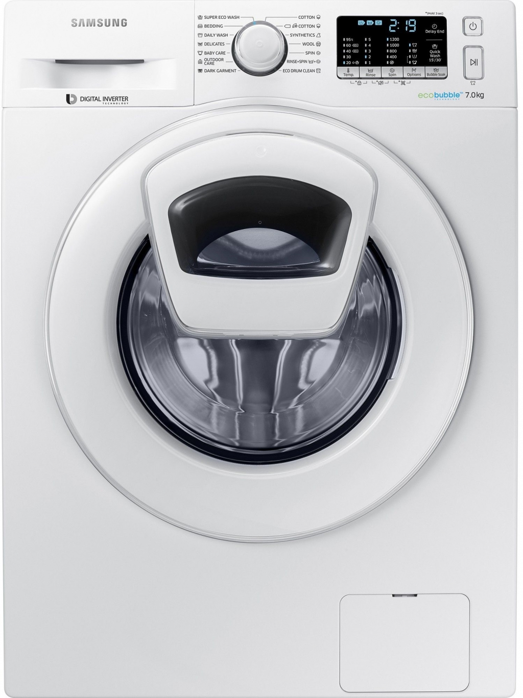 Перална машина Samsung WW70K5210WW/LE