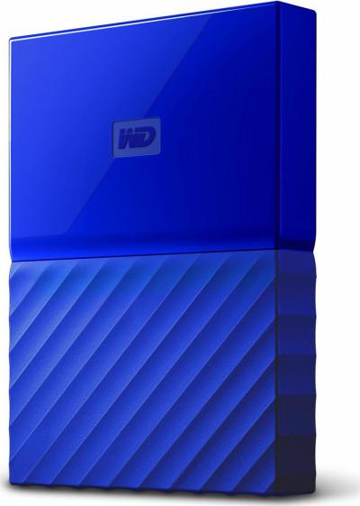 Хард диск Western Digital HDD 1TB USB 3.0 WDBYNN0010BBL MyPassport Blue
