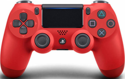 Джойстик Sony Playstation PS4 DUALSHOCK CONTROLLER MAGMA RED V2/ EUR