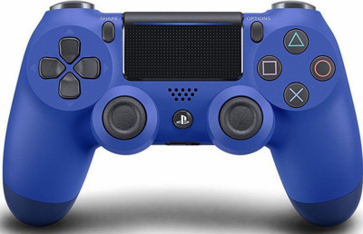 Джойстик Sony Playstation PS4 DUALSHOCK CONTROLLER WAVE BLUE V2/ EUR