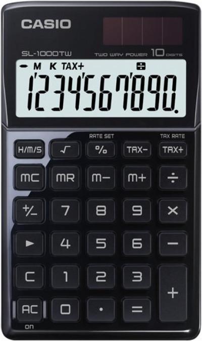 Калкулатор Casio SL-1000TW черен