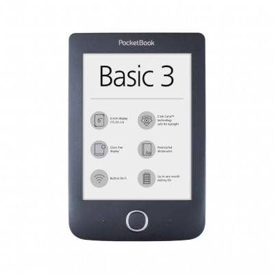 Електронна книга Pocketbook Basic 3 PB614-2 Black
