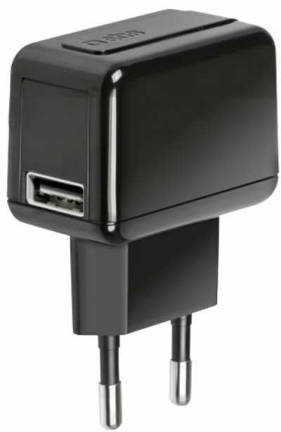 Зарядно устройство SBS Travel charger  with USB port TETRAV1USB1L