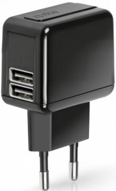 Зарядно устройство SBS Travel charger 3,1 A TETRAV2USB31A