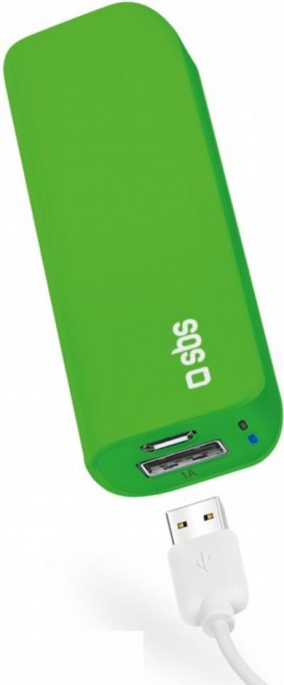 Външна батерия SBS Power Bank 3000 mAh Li-Ion TEBB30001UG