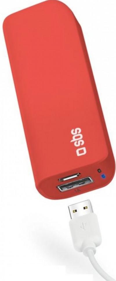 Външна батерия SBS Power Bank 3000 mAh Li-Ion TEBB30001UR