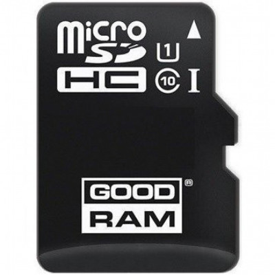 SD micro карта памет GOODRAM 32GB MICRO CARD class 10 UHS 60 Mb I + adapter