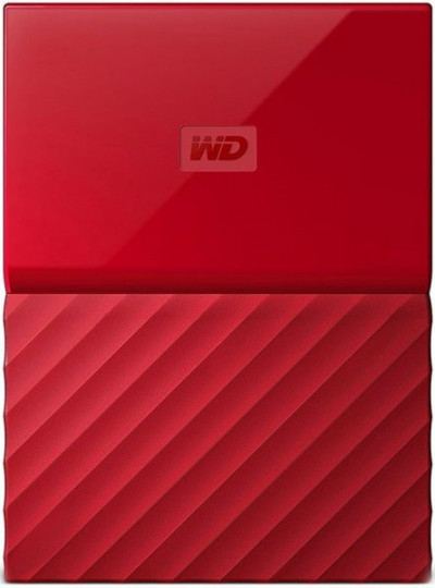 Хард диск Western Digital HDD 1TB USB 3.0 WDBYNN0010BRD MyPassport Red