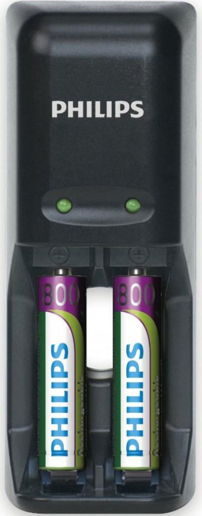 Зарядно у-во за батерии Philips SCB1240NB/12