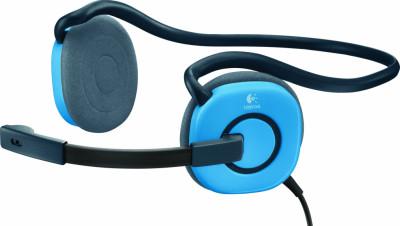 Слушалки Logitech Stereo Headset H130 Sky Blue