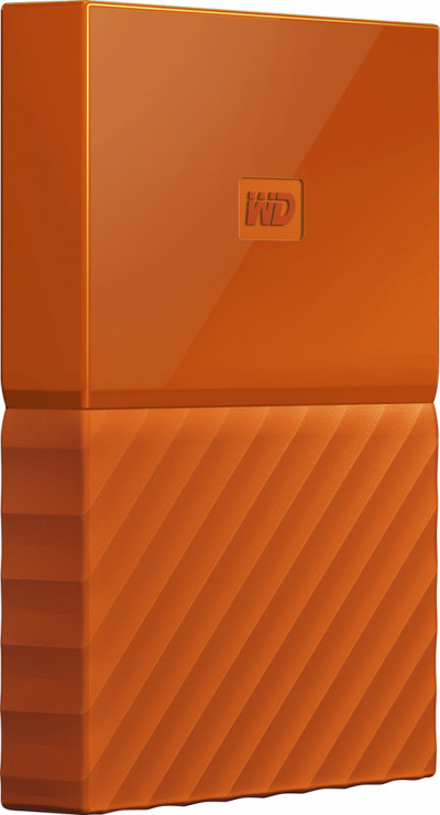 Хард диск Western Digital HDD 1TB USB 3.0 WDBYNN0010BOR MyPassport Orange