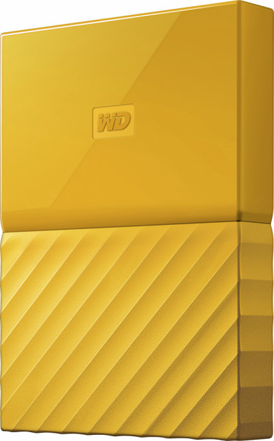 Хард диск Western Digital HDD 1TB USB 3.0 WDBYNN0010BYL MyPassport Yellow