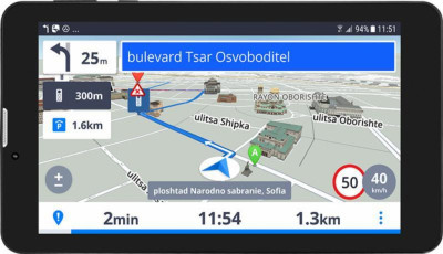 GPS навигатор PRESTIGIO GeoVision Tour 3 LHPGPS-7799EU16GBSG