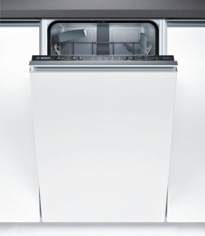 Съдомиялна машина за вграждане Bosch SPV25CX00E + Почистващ препарат Finish Quantum Max 18tabs. Regu