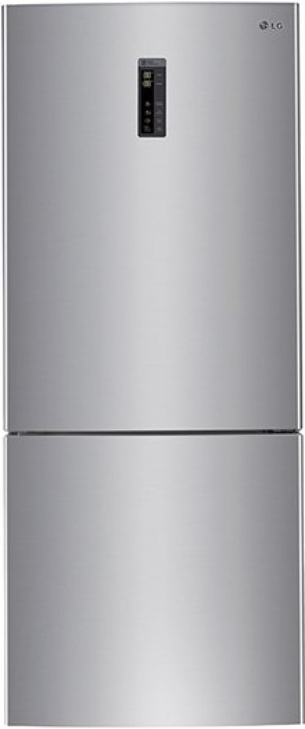 Хладилник с фризер LG GBB-548PZCZH