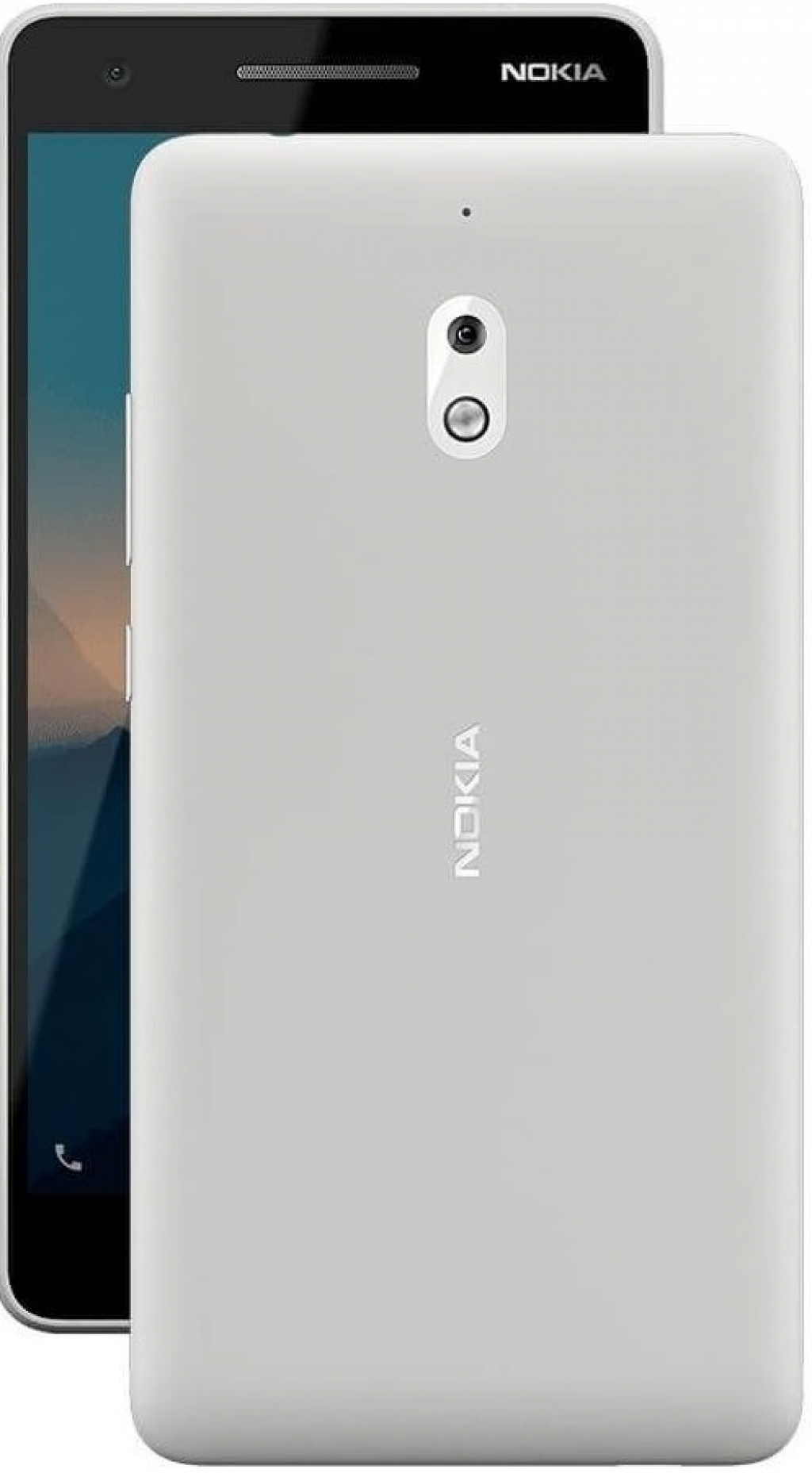 Смартфон Nokia 2.1 DS Gray/Silver