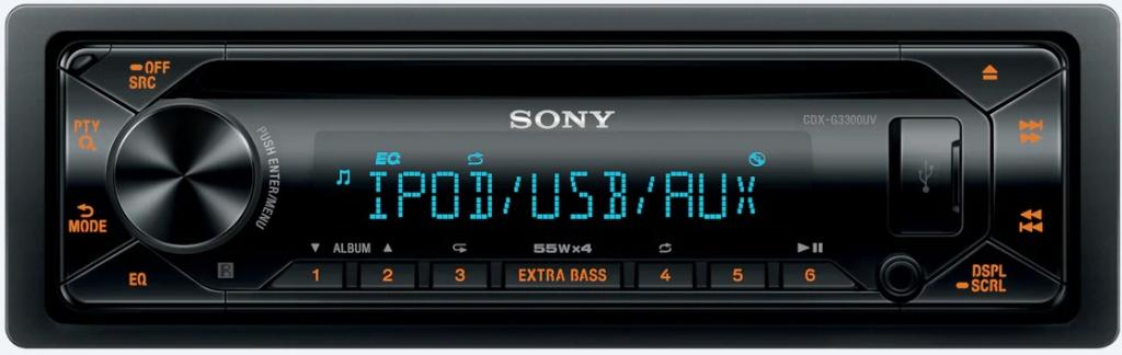 Авто Ресивър Sony CDX-G3300UV.EUR