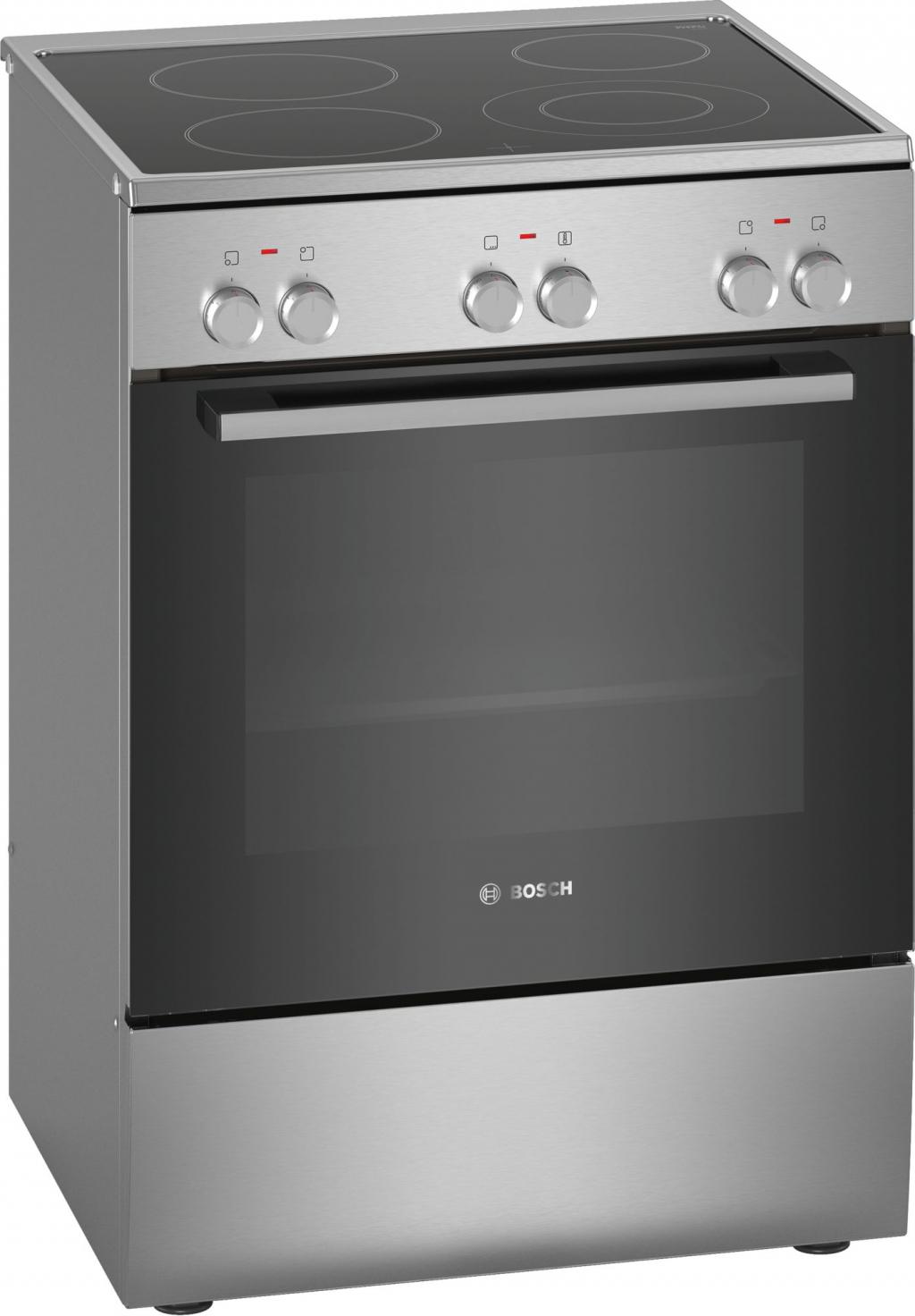 Готварска печка с керамичен плот Bosch HKA090150
