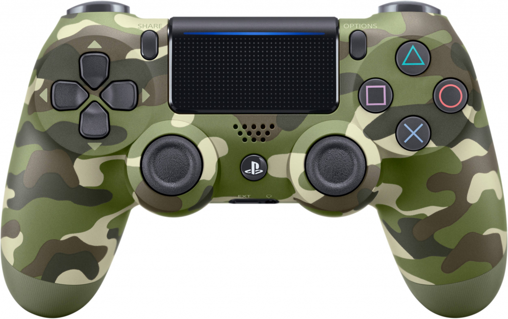 Джойстик Sony Playstation PS4 DUALSHOCK CONTROLLER GREEN CAMO V2/EUR