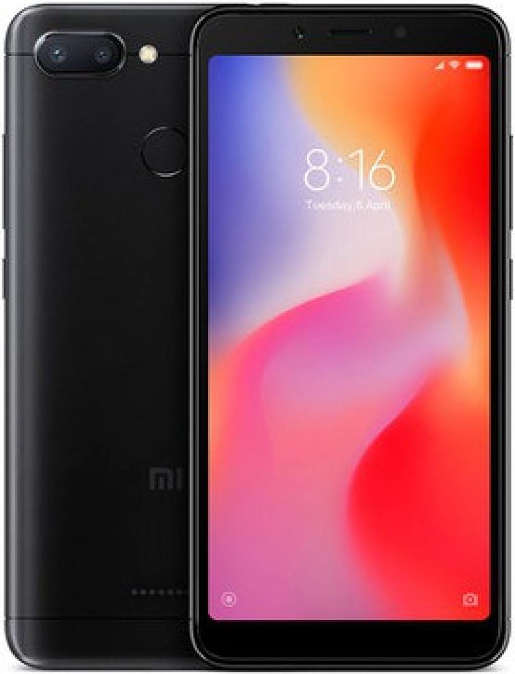 Смартфон Xiaomi Redmi 6 3/64GB DS Black