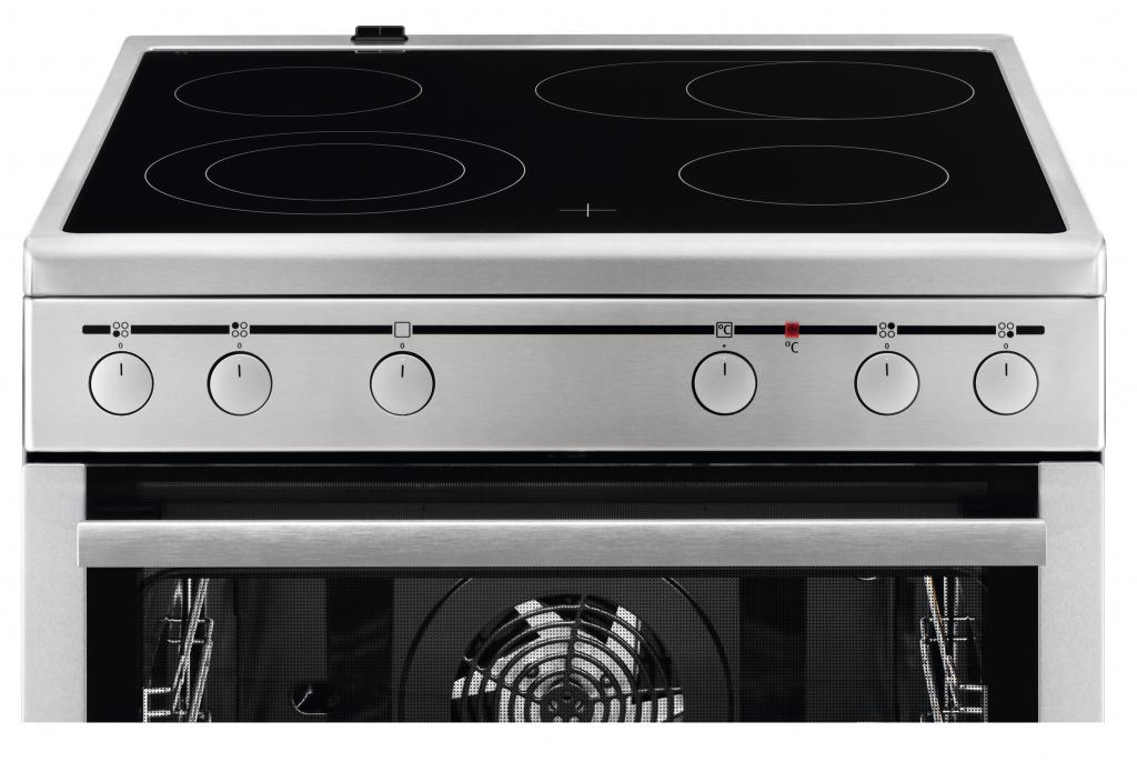 Готварска печка с керамичен плот AEG 40016VS-MN
