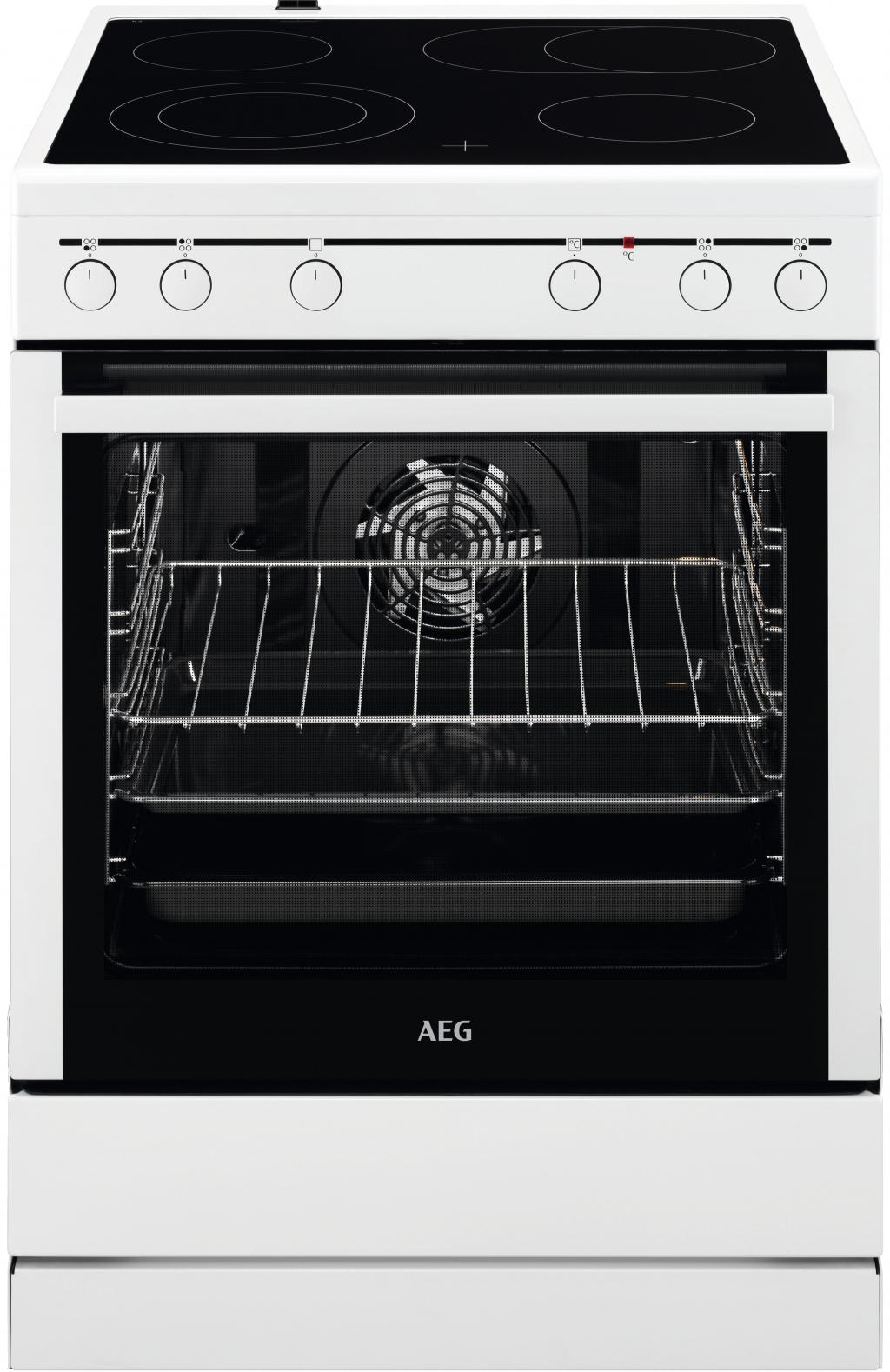 Готварска печка с керамичен плот AEG 40016VS-WN