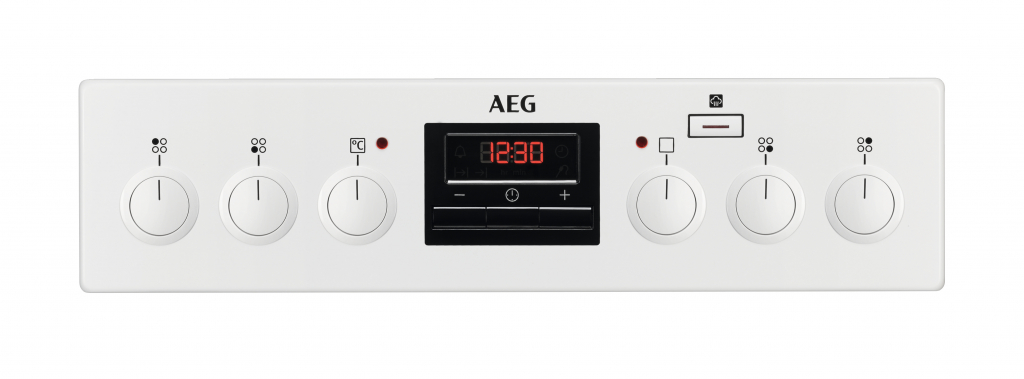 Готварска печка с керамичен плот AEG CCB56400BW