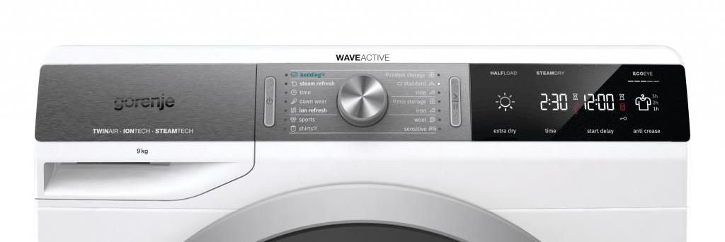 Перална машина Gorenje WE72S3 + Промо пакет Прах за пране Persil, Омекотител Silan, Цветоулавящи кър