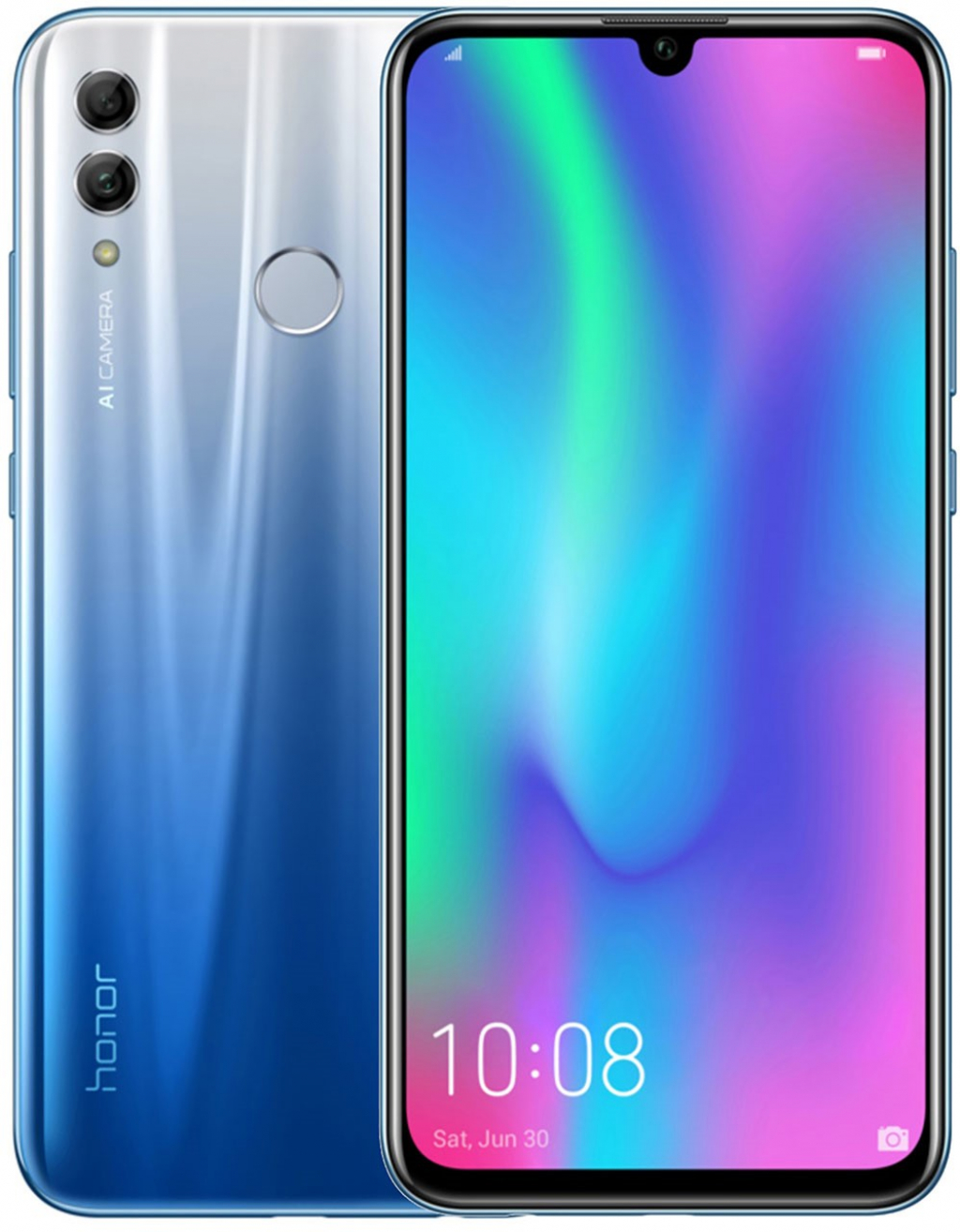 Смартфон HONOR 10 Lite DS Sky Blue 32GB
