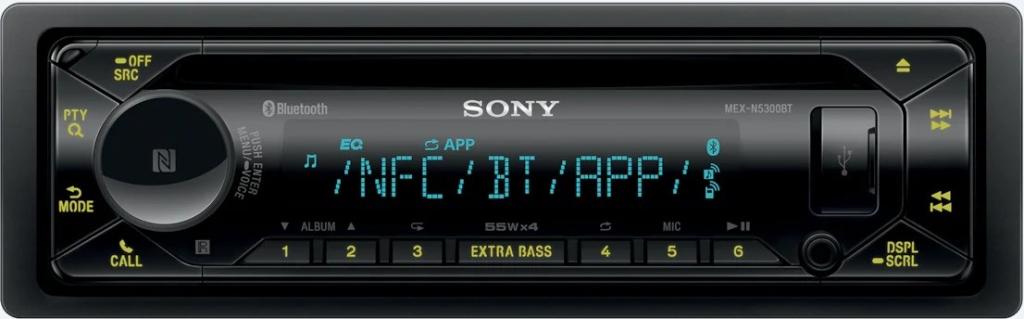 Авто Ресивър Sony MEX-N5300BT.EUR