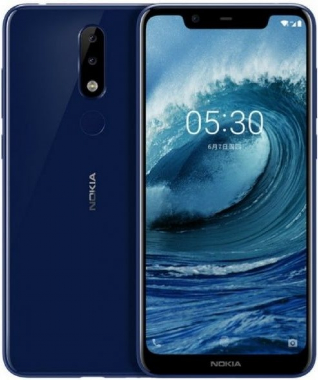 Смартфон Nokia 5.1 Plus Blue