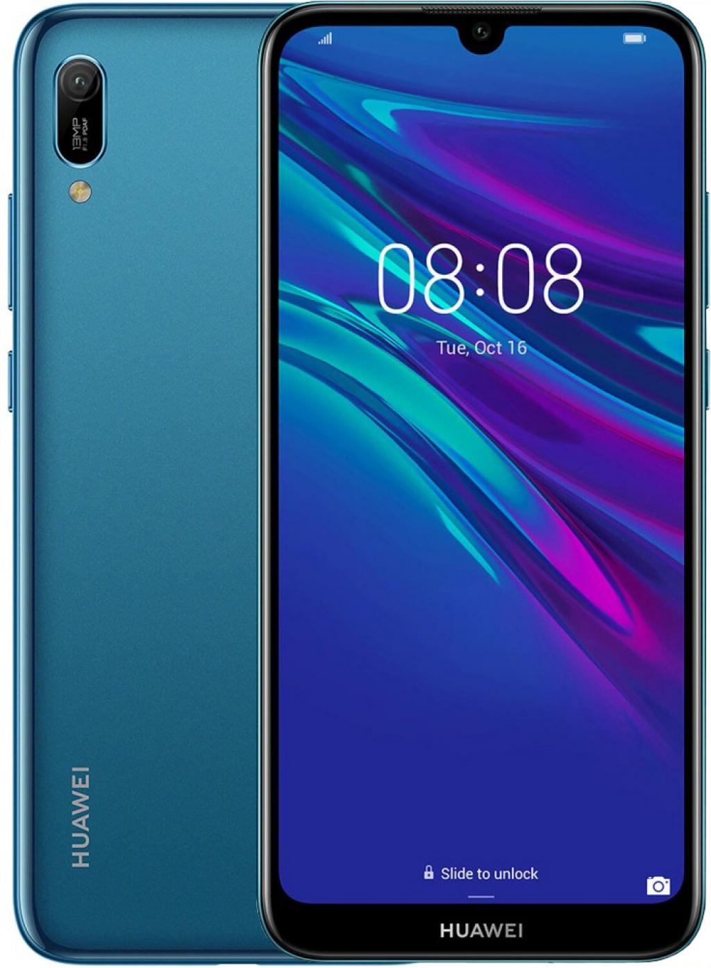 Смартфон HUAWEI Y6 2019 DS MRD-L21A Sapphire Blue