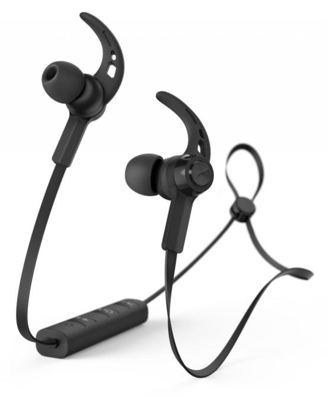 Слушалки HAMA-184020 Connect In-Ear Bluetooth черни