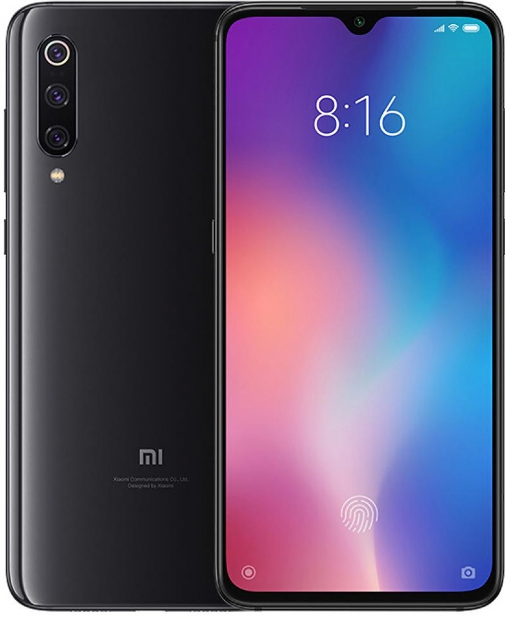 Смартфон Xiaomi Mi 9 6/64GB DS Piano Black
