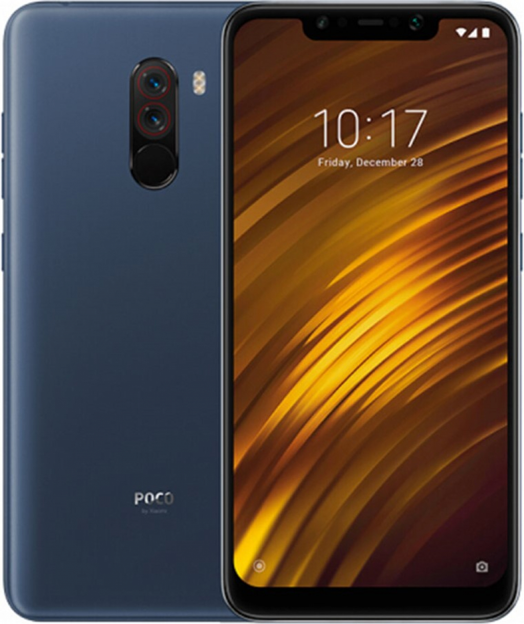 Смартфон Xiaomi Pocophone F1 6/64GB DS Blue