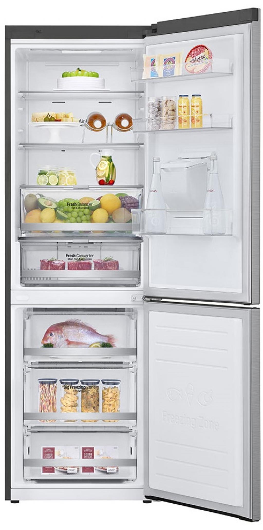 Хладилник с фризер LG GBF-71PZDZN