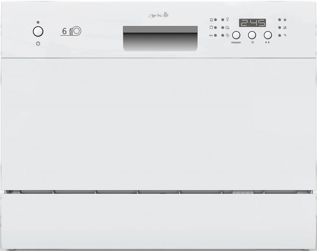 Съдомиялна машина компактна Arielli ADW6-3602D White