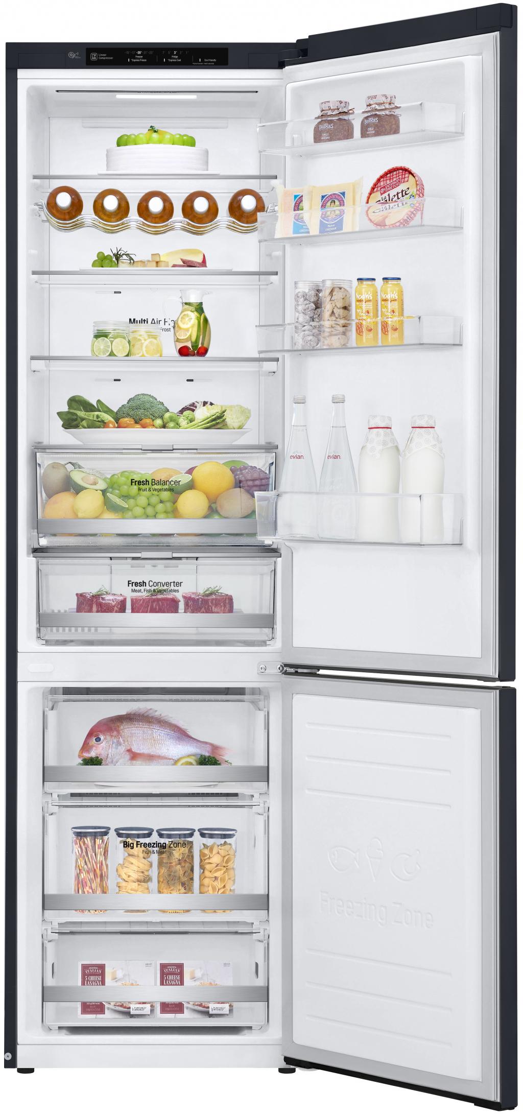 Хладилник с фризер LG GBB-72MCEFN