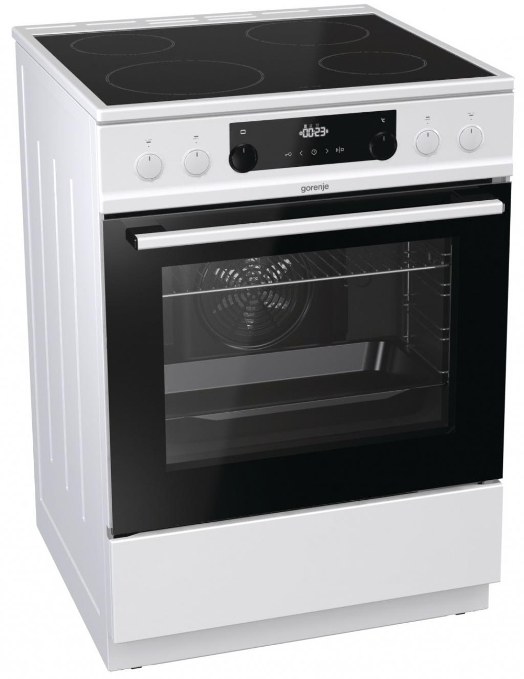 Готварска печка с керамичен плот Gorenje EC635PG