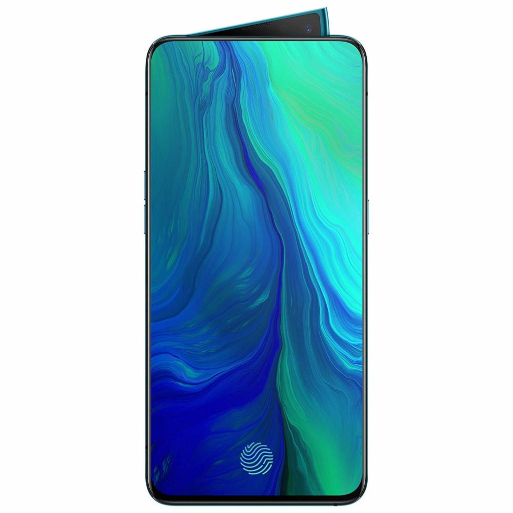 Смартфон Oppo Reno 6/256GB Ocean Green + Слушалки Sony WIC200B.CE7