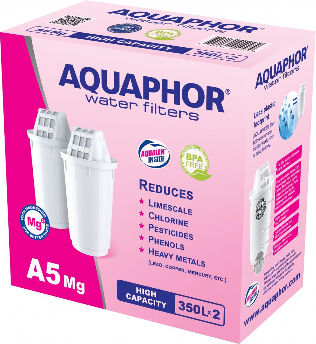 Патрон AQUAPHOR A5 с магнезий комплект 2 бр